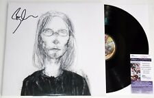 STEVEN WILSON SIGNED COVER VERSION 2x LP VINYL RECORD PORCUPINE TREE +JSA COA
