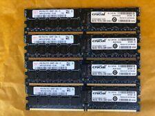 4PCs of CRUCIAL CT102472AB667 / HYNIX HMP31GP7AFR4C-Y5 DDR2 8GB ECC REG