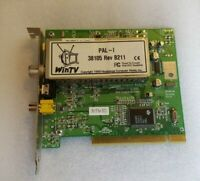 Hauppauge TV Tuner WinTV PAL-I 38105 Rev B211 SN 3665521