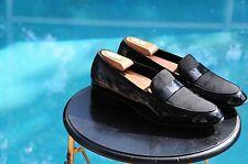 SALVATORRE FERRAGAMO Men's  Patented  Leather Formal Loafers Black  US Sz 9.5EE