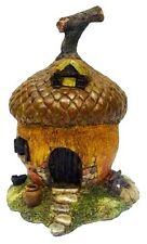 Fairy Garden Acorn House With Windows Figurine Miniature Decor New Free Shipping