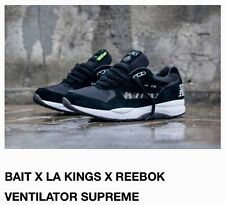 COLLABORATION BAIT X LA KINGS X REEBOK VENTILATOR LOS ANGELES MEN 8.5 NHL HOCKEY