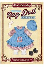 Sewing a Rag Doll Outfit Kit  - Traditional Dress Outfit to fit 54cm Rag Doll