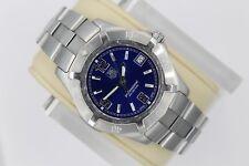 Tag Heuer 2000 Blue WN1112.BA0332 Classic Professional SS Watch Mens Mint Glass