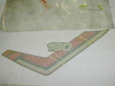New NOS Yamaha RT180 RT 180 OEM Left Side Emblem 2TW-F1787-11-33 Decal