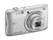 Nikon COOLPIX S3600 20.1 MP Digital Camera w/ 8x Zoom NIKKOR Lens & 720p HD Vide