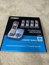 DECT1480-5 Uniden 5 Handset Bundle Digital Dect 6.0 5 Phone 9 Hour Talk Time