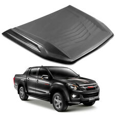 Bonnet Hood Scoop Cover Trim Black 1 Pc For Isuzu D-Max Holden Rodeo 2016 - 2017