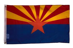 PringCor State of Arizona BIG Flag 3x5FT Polyester Banner AZ Tucson Phoenix