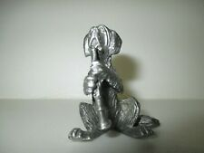 St. Bernard Dog Pewter Figurine - Playing the Bassoon :)