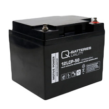 12v 50ah AGM Golf Mobility Scooter Wheelchair Battery 12LCP-50
