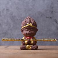 praying monkey statue yixing zisha tea pet handmade ornament home decoration new