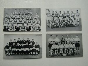 DC Thompson 1961 ( The Victor) Star Teams of 1961 Card Variants (ef1)