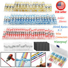 Waterproof Solder Sleeve Seal Heat Shrink Wire Butt Terminals Connector 10-26AWG