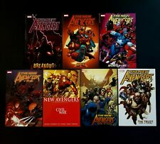 NEW AVENGERS TPB VOLUMES #1, 2, 3, 4, 5, 6, 7 (MARVEL, BENDIS) A+ CONDITION