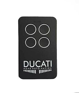 6208ROL DUCATI's rolling coded 4 buttons remote control FOB for ducati home gate
