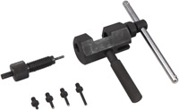 BIKESERVICE Cam Chain Breaker and Riveting Tool Kit BS3550