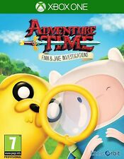 Adventure Time Finn & Jake Investigations XBOX One 1 Video Game UK Release