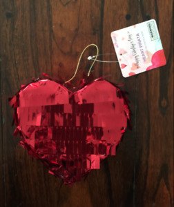 VALENTINES DAY HEART LOVE MINI PERSONAL PINATA PARTY FAVOR SUPPLIES PARTY DECOR