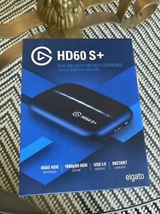 Elgato Game Capture HD60 S+ Plus - Stream & Record 4K - Like Cam Link