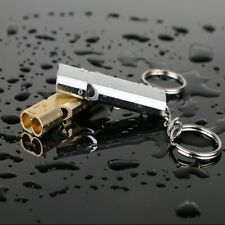Emergency Survival Whistle Portable Aluminum Safety Whistle Hiking & Camping EDC