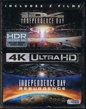 2-Film BOX SET 🛸 iD4 Independence Day + Resurgence 🛸 4K UHD Blu-ray Digital