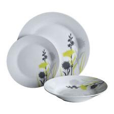 12pc Dinner Set Meadow Flowers Plates Bowls Porcelain Service Dining Set