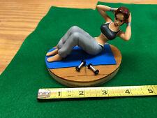 Tomb Raider Laura Croft Exercising Home Training - Resin Figure - Core Design