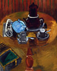 FRAMED CANVAS PRINT PAINTING Raoul Dufy NATURE MORTE AU SUCRIER BLEU Coffee tea