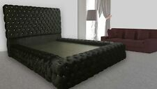 Ambassador Beds, Upholstered Chesterfield, Storage, All Sizes, LI-BED-790
