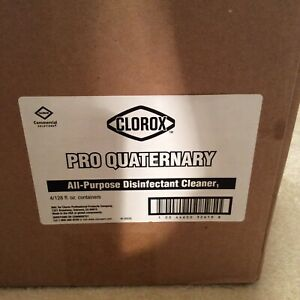 Clorox Pro Quaternary All-Purpose Disinfectant Cleaner, 128oz  (Sold Each)
