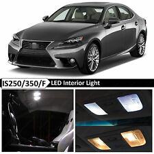 17x White Interior LED Light Package for 2014-2015 Lexus IS250 IS350 IS F