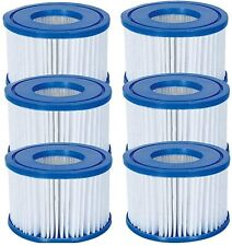More details for 6 x brand new bestway lazy lay-z-spa filters vi cartridge - hot tub - spa