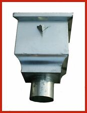Regenrinnen & Zubehör Wasserfangkasten Wasser Sammelkasten Als Schlangenkopf 100 Anthrazit =neuheit= Heimwerker