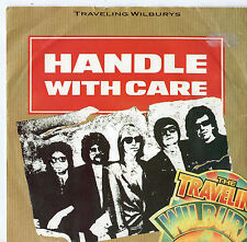 """Traveling Wilburys - Handle With Care 7"""" Single 1983"""