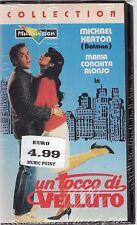 UN TOCCO DI VELLUTO VHS SIGILLATA
