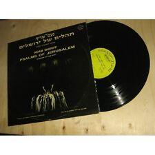 NOAM SHERIFF psalms of jerusalem SYNTHETIZED & VOCAL MUSIC EXPERIMENTAL Lp 1983