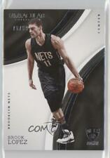 2016-17 Panini Immaculate /99 Brook Lopez #11