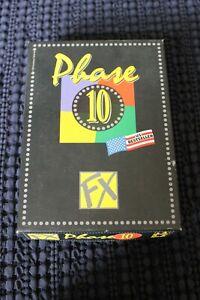 Phase 10 FX Kartenspiel....Vollständig