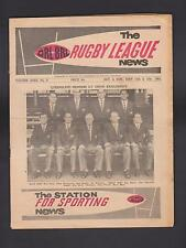 1962 - QRL/BRL THE RUGBY LEAGUE NEWS - VOL XXXII No 9