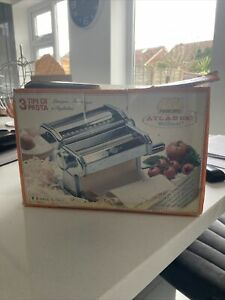 Marcato atlas 180 MM Roller Sheeter pasta Maker Lasagne Italy Dough Sheeter