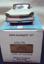 1/43,Rare!,1959 Lincoln,Conv.T/U by Minimarque,N/Brooklin/N/Motorcity