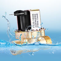 """1/2"""" AC 220V Normally  Brass Electric Solenoid Magnetic Valve GTO"""