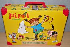 Pippi Langstrumpf Kassettenkoffer Kassetten Koffer MC´s Aufbewahrung Vintage MC