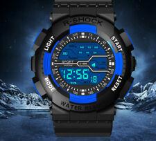 Orologio LED Digitale Waterproof 30M Honhx WR30M Giallo Sportivo Impermeabile