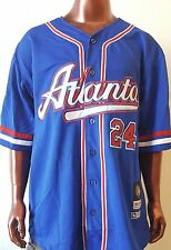 NLBM Atlanta Crackers Men's Baseball Jersey Blue