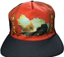 MLRS Multiple Launch Rocket System Snapback Hat Vintage New