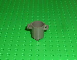 LEGO - CONTAINER, Trash Can with 2 Cover Holders - DARK GREY x 2 (2439) CN40