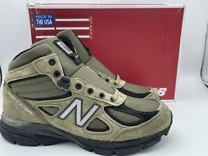 New Balance 990V4 MO990FL4 Army Green Hiking Boots Made in USA New