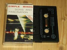 Simple Minds:  Sons & Fascination/Sister Feelings Call     UK  EX    Cassette